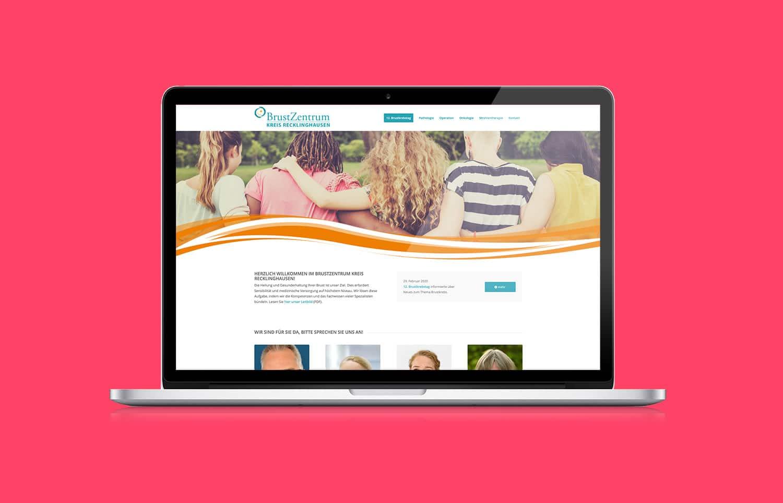 BrustZentrum Website