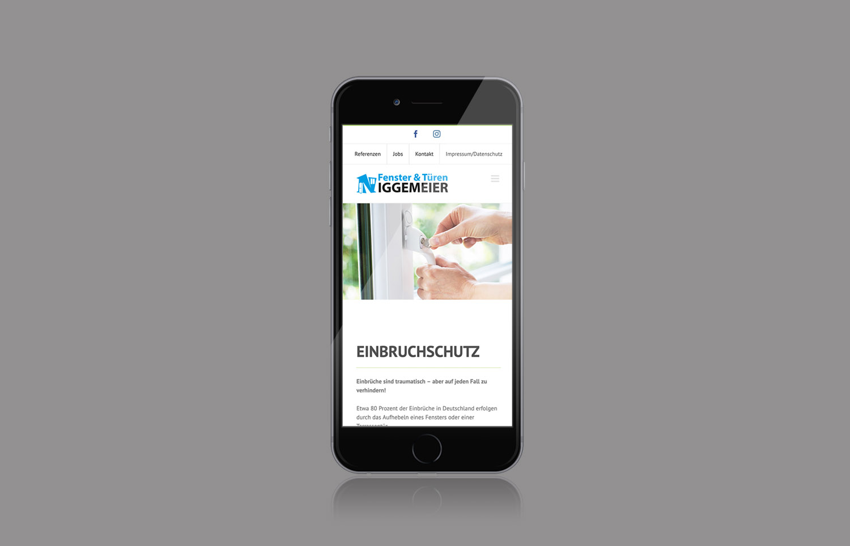 Niggemeier Website mobil